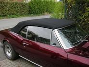 Chevrolet CAMARO, Bj. 1967: Cabrioverdeck maßangefertigt und aufgezogen